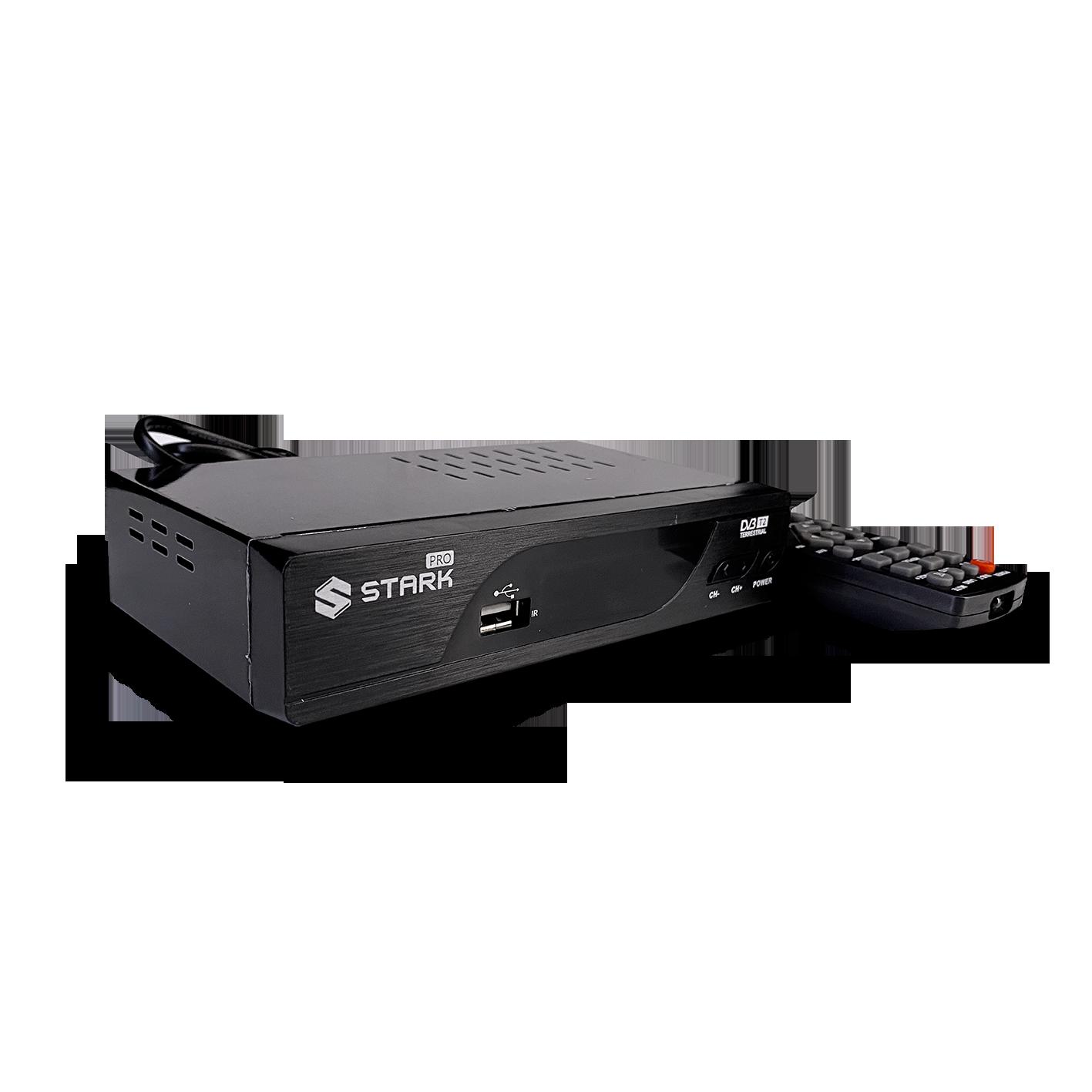 STARK PRO Set Top Box DVB-T2 PVR, teletex, metalno kućište (Slika 4)