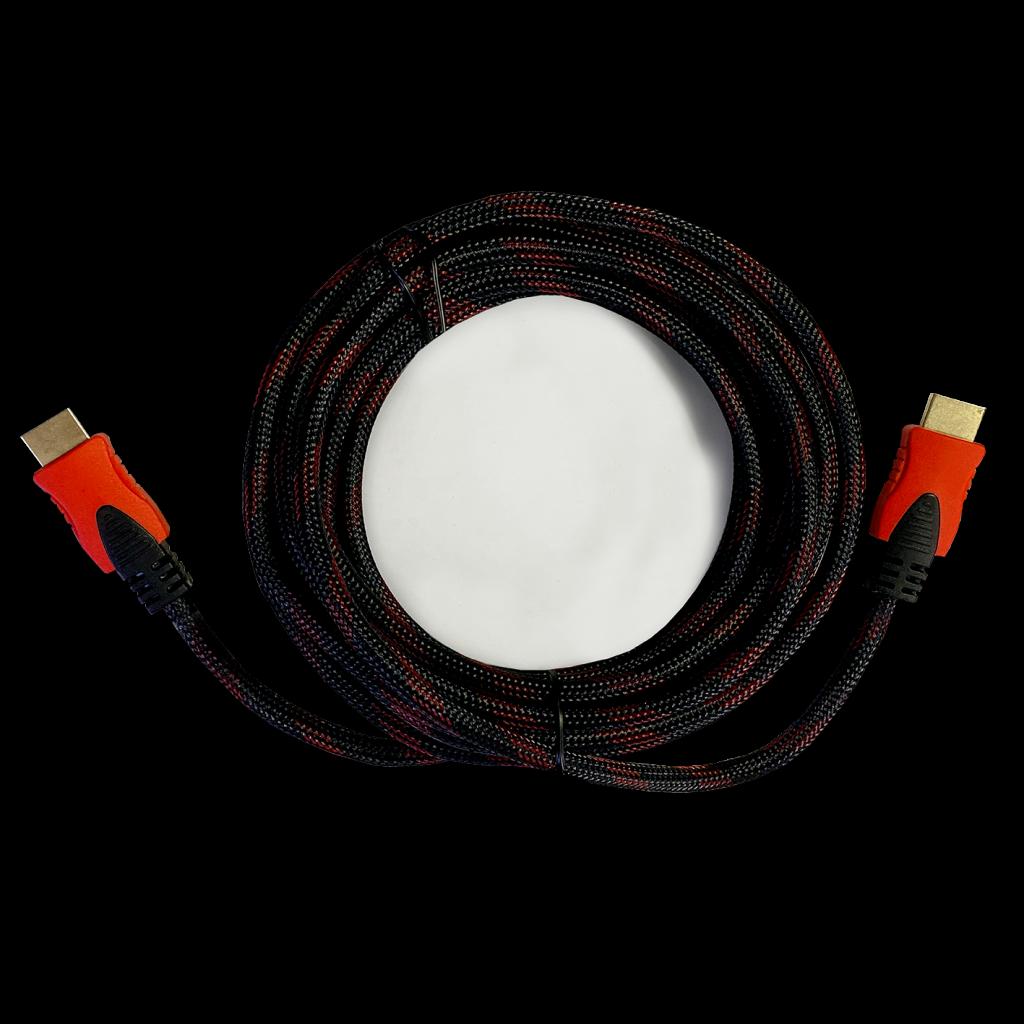 STARK kabl HDMI M-M pozlaćen 4K(Ultra HD), pleteni sa zaštitom od 4 sloja 5m(Slika 4)
