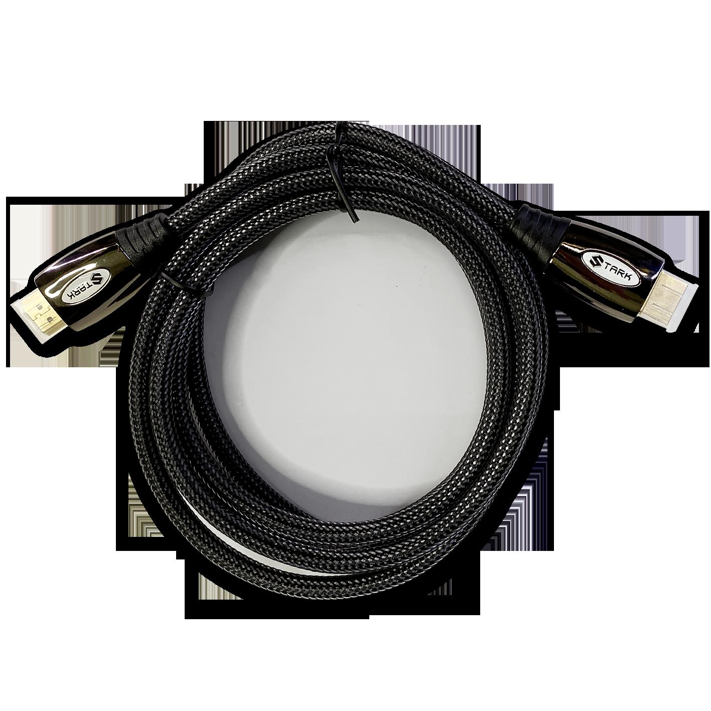 STARK kabl HDMI M-M, pozlaćen 4K(Ultra HD), metalno kućište, podržava 3D, 2m (Slika 4)