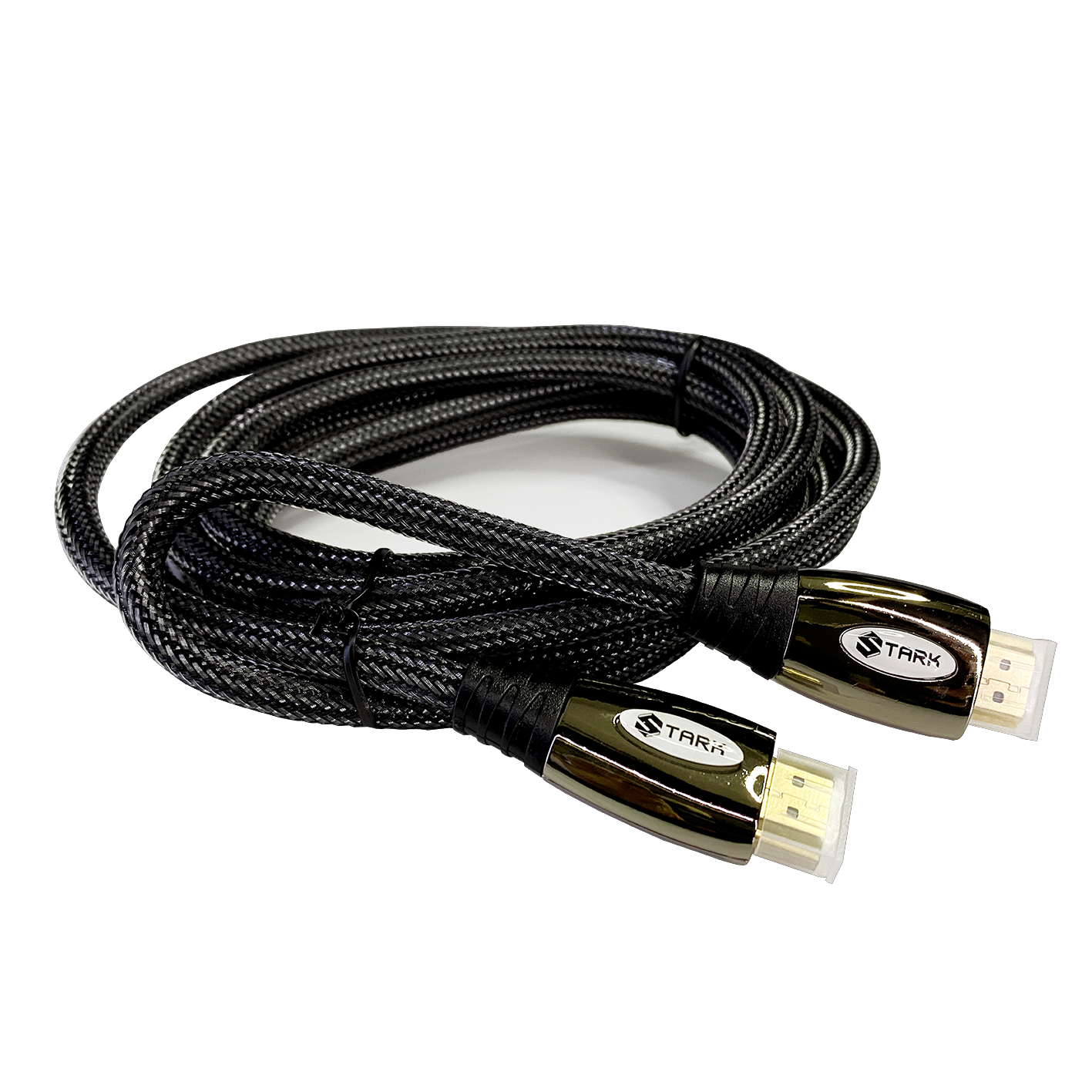 STARK kabl HDMI M-M, pozlaćen 4K(Ultra HD), metalno kućište, podržava 3D, 3m (Slika 2)