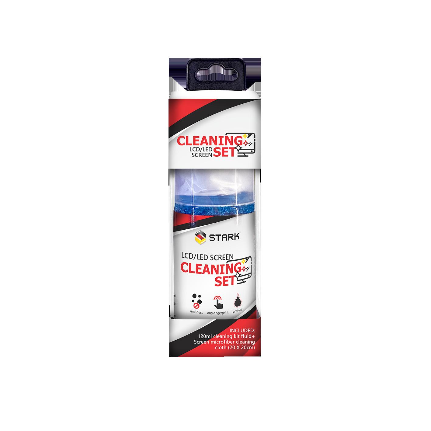 STARK Sredstvo za čišćenje LCD-LED ekrana 120ml + krpica 20cm X 20cm (Slika 2)
